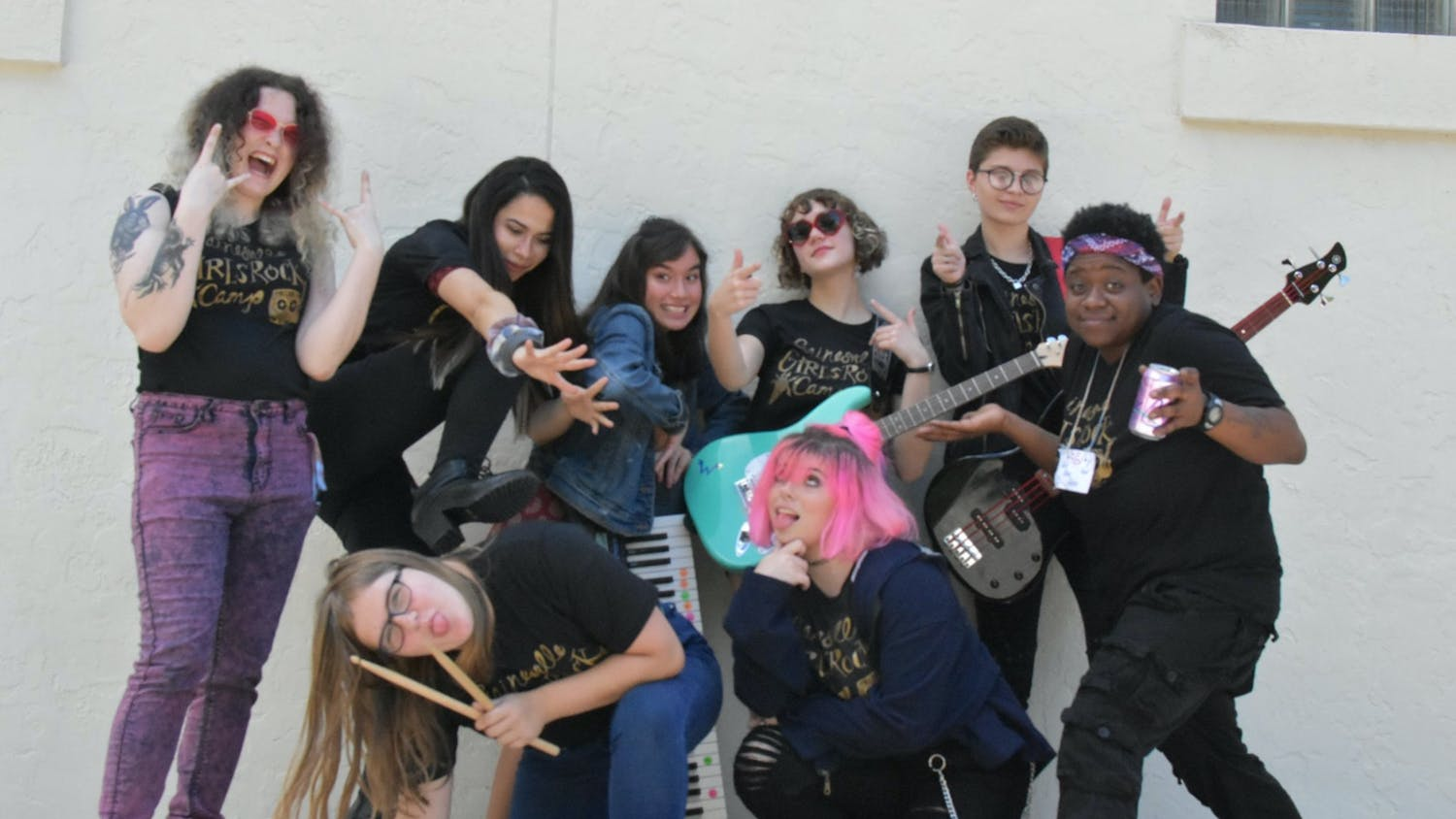 Gainesville Girls Rock Camp is a nonprofit organization that uses music, art and creative expression to amplify the voices of marginalized gender groups. (Courtesy to The Alligator)