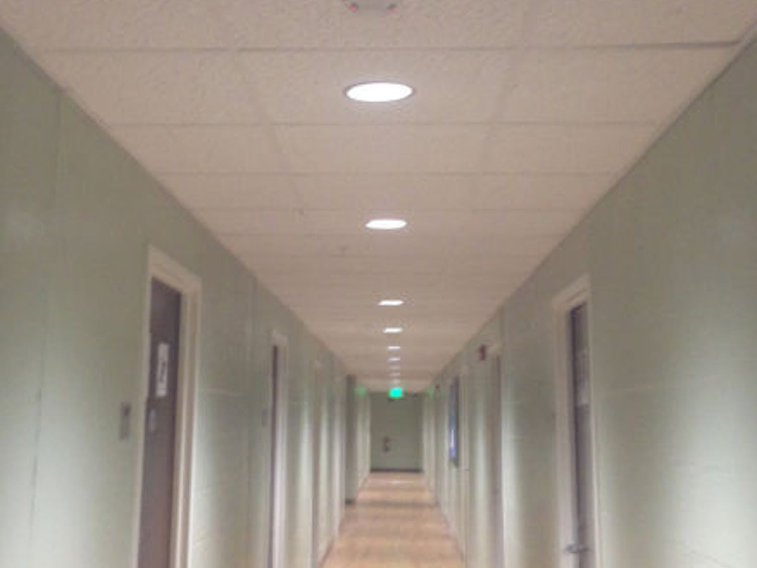 Security cameras are now installed in Broward Hall following the incident in question.