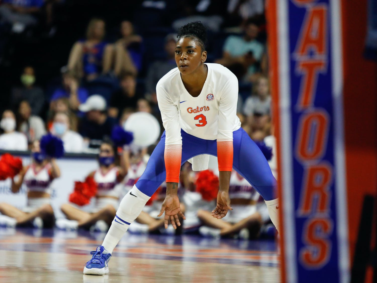 Florida's T'ara Ceasar during a game against Mississippi State on Sept. 24.