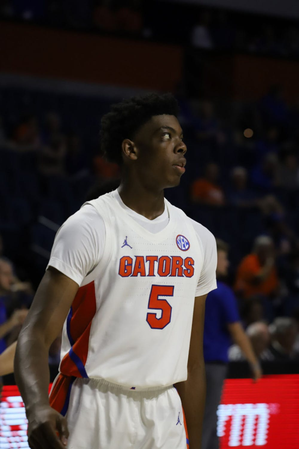 <p>Omar Payne finished his second straight game in double figues, scoring ten and grabbing nine rebounds against Georgia Saturday afternoon</p>
