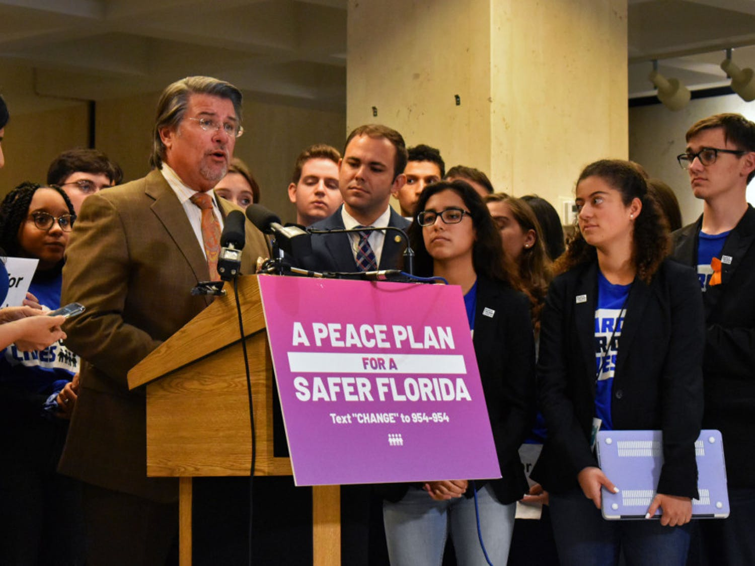 """Sen. Gary Farmer (D) said that gun violence is a public health emergency and that legislators should treat it as such. """"The time to act is now,"""" he said."""