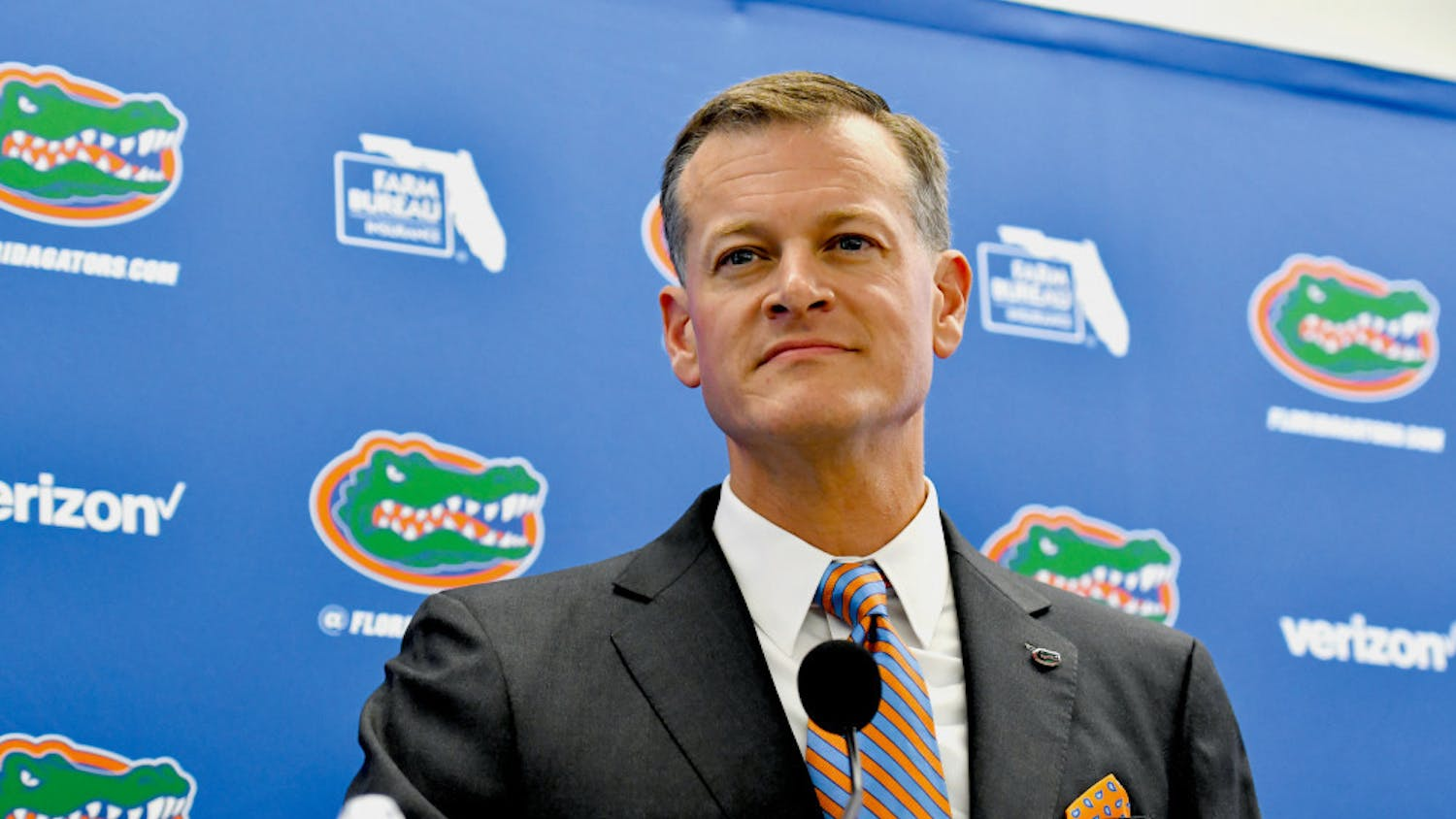 Florida Athletic Director Scott Stricklin addressed the abuse allegations surrounding former women's basketball coach Cameron Newbauer Monday.
