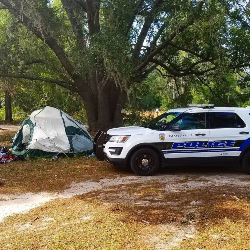 """<p dir=""""ltr""""><span>Gainesville Police assisted the Florida Department of Corrections in communicating with members of the encampment on FDC property.</span></p> <p><span>&nbsp;</span></p>"""