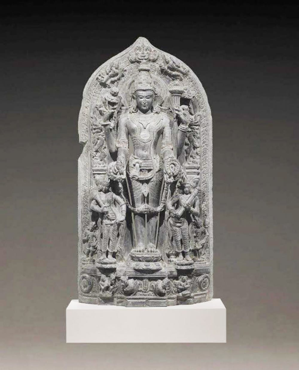 """<p dir=""""ltr""""><span>The Samuel P. Harn Museum of Art paid $75,000 to Subhash Kapoor, an art dealer currently on trial for an international art smuggling racket, for The Stele of Vishnu Trivikrama in 1999. Homeland Security Investigations took the statue from the Harn last week to return it back to its origin in India after evidence of it being stolen.</span></p><p><span id=""""docs-internal-guid-91157ced-ae72-a208-bff6-afe61ec3986e""""><span>Courtesy to the Alligator</span></span></p>"""