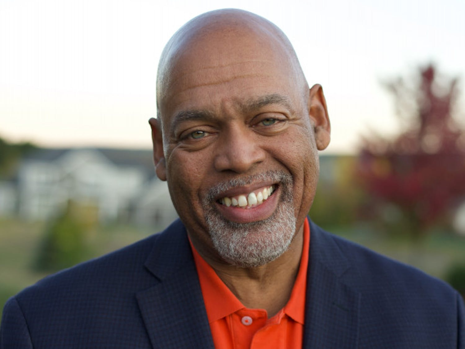 Hub Brown, an associate dean at Syracuse University's Newhouse School of Public Communications,  is the new dean of UF's College of Journalism and Communications. (Credit: Maddi Brown)