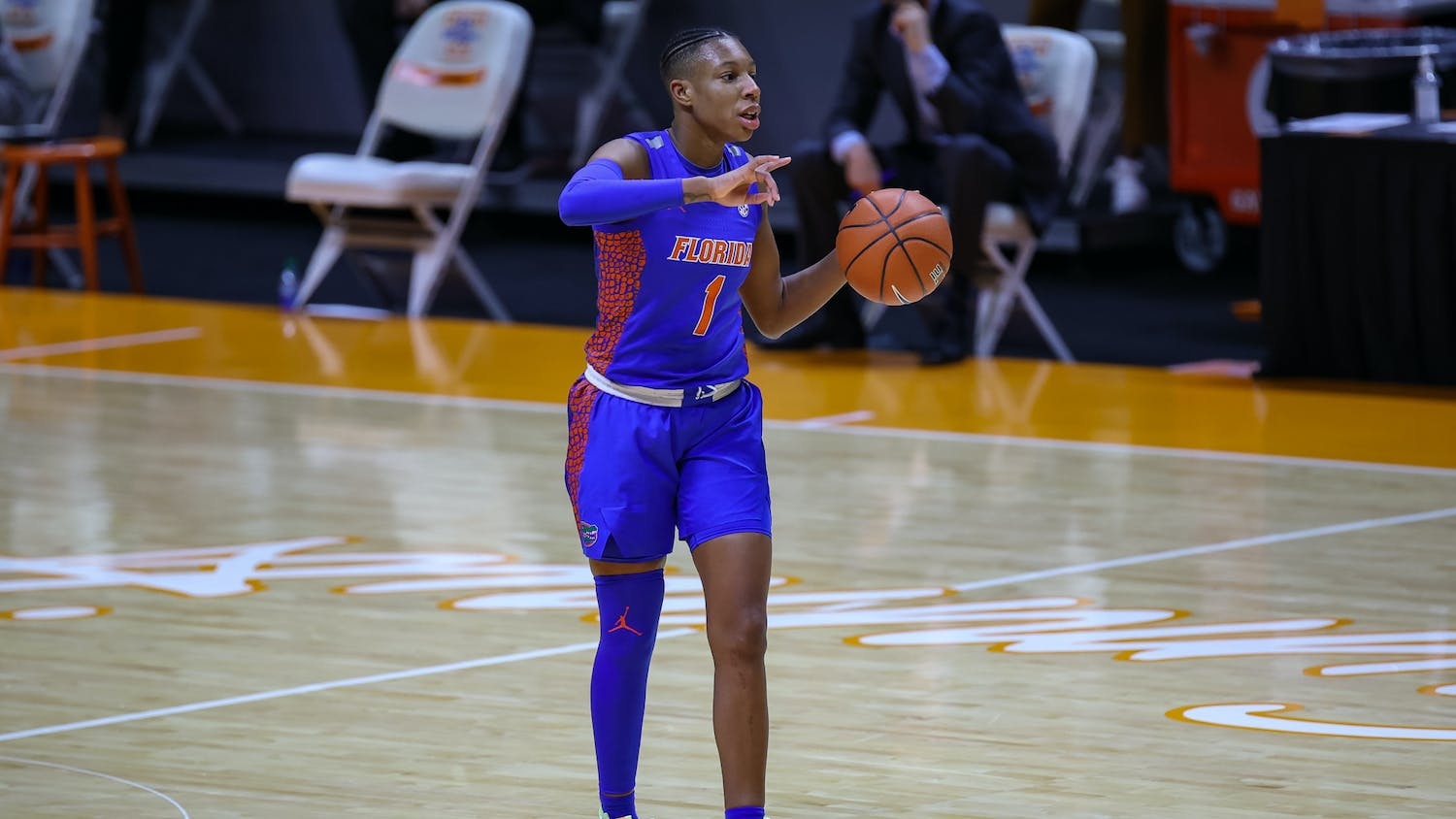 Kiara Smith scored 23 points Sunday. Photo courtesy of the SEC Media Portal.