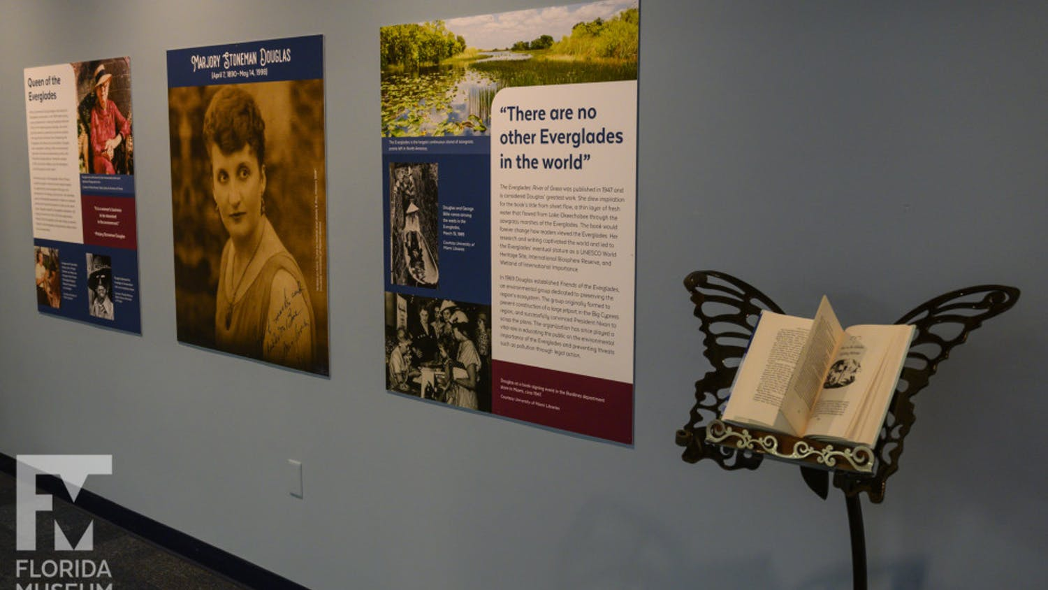 """The """"Women of the Everglades: Activism and Conservation"""" exhibit opened at museum Feb. 15."""