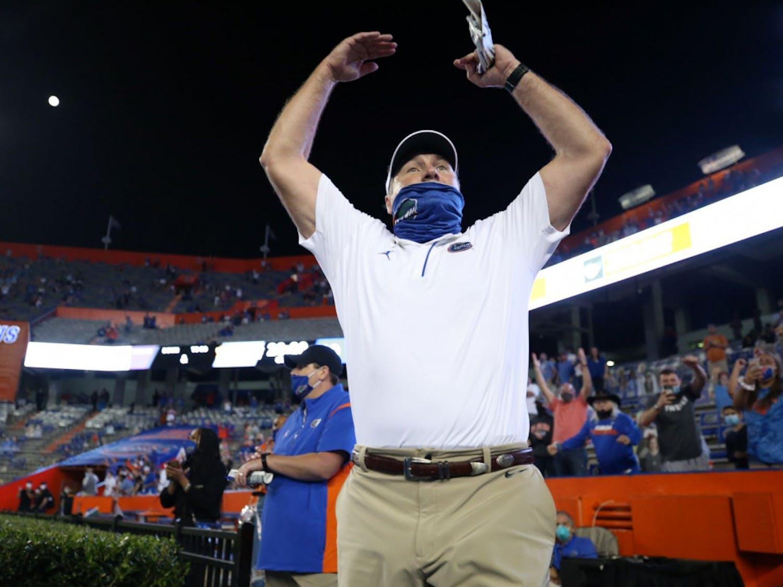 Coach Dan Mullen was fined $25,000 for violating the SEC's bylaws regarding sportsmanship in Florida's game versus Missouri Saturday.