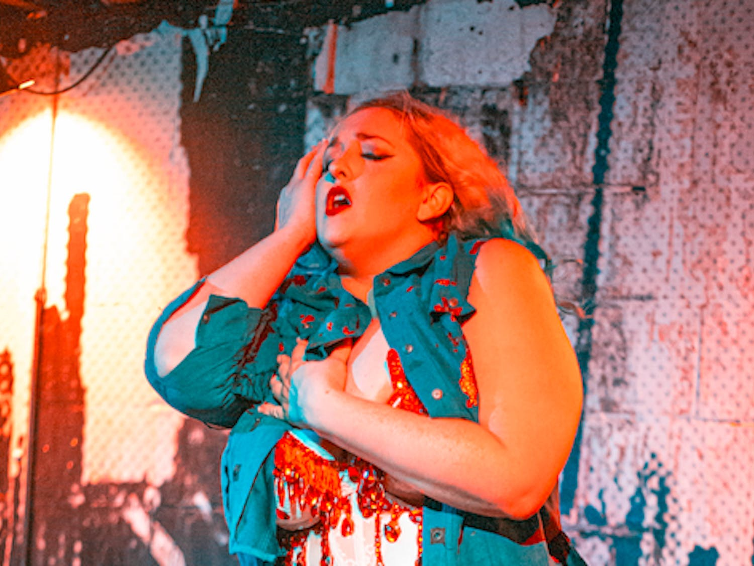 Edith Meowt, a 30-year-old Gainesville resident, will be a video producer and a burlesque dancer for thehorror-inspired burlesque and drag show at Hardback Cafe.