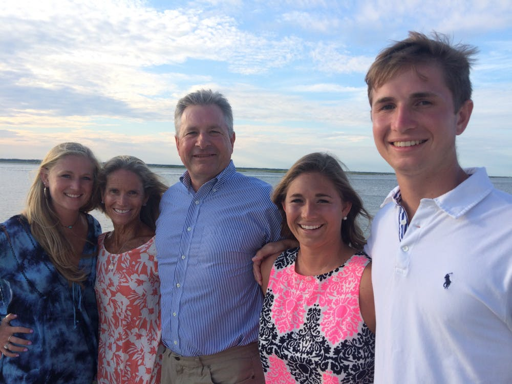 """<p dir=""""ltr""""><span>Logan, Nancy, Scott, Cori and Ryan Hinterleiter vacation at the shore in Avalon, New Jersey every August. Ryan's mom, Nancy Hinterleiter, said they have a close-knit family.</span></p><p><span></span></p>"""
