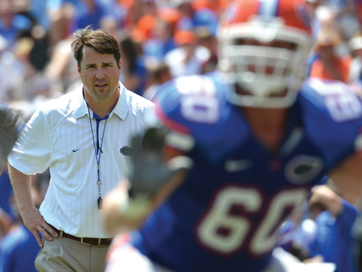 After a mediocre finish and a barrage of off-the-field issues, Florida coach Will Muschamp will try to balance promises of proper conduct with the expectations of winning immediately in his first year.