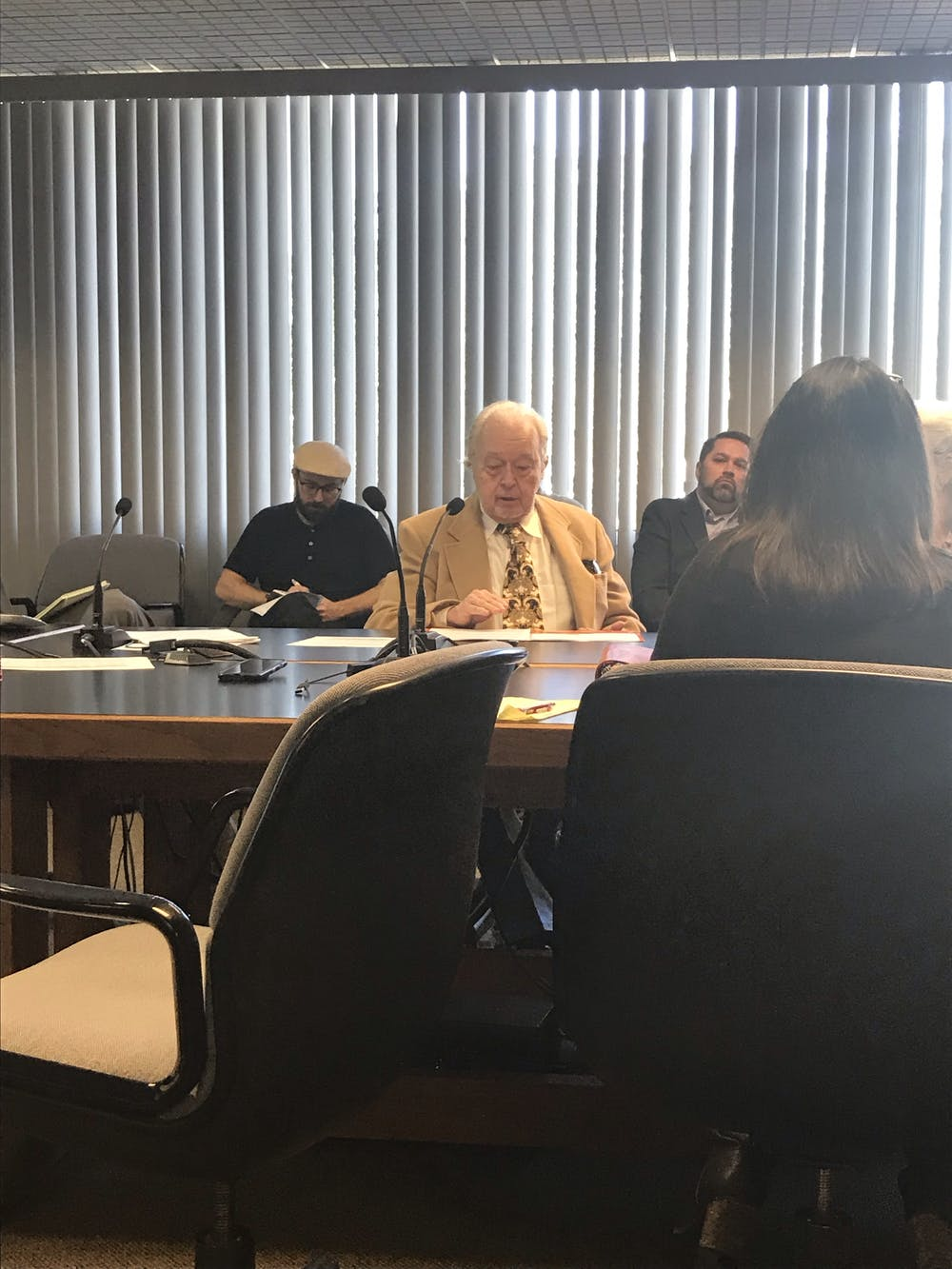"""<div dir=""""auto"""">Bruce Blackwell, 77, of Gainesville, spoke in support of the conversion therapy ban. He said after hearing the story of a man who experienced suicidal thoughts after undergoing the therapy, it was up to him to right the wrongs of others.</div>"""