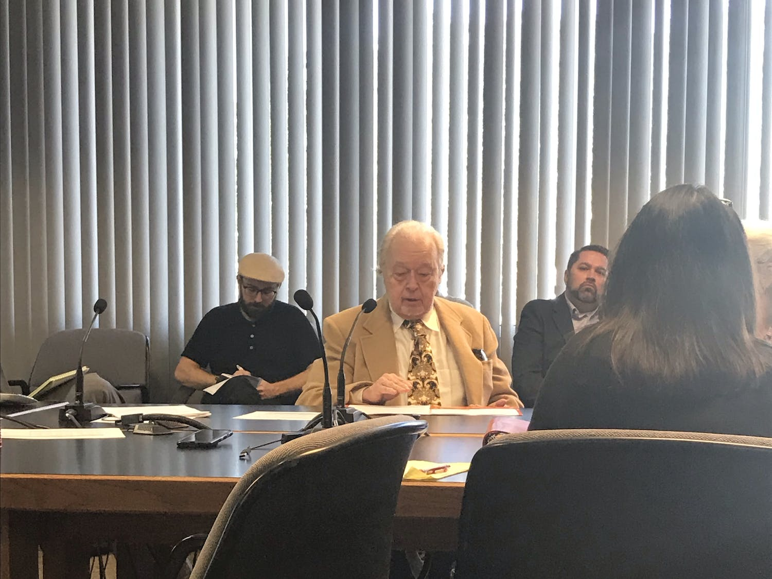 Bruce Blackwell, 77, of Gainesville, spoke in support of the conversion therapy ban. He said after hearing the story of a man who experienced suicidal thoughts after undergoing the therapy, it was up to him to right the wrongs of others.