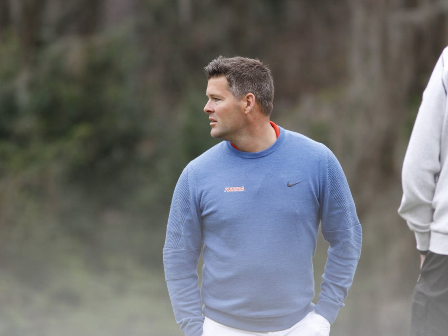 Florida men's golf coach JC Deacon's squad punched its ticket to the national championship with a Wednesday comeback
