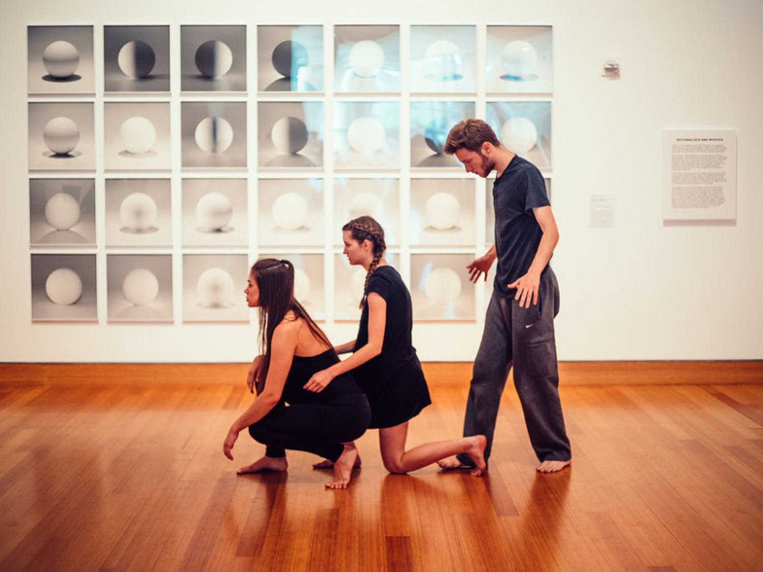 During a Harn Museum of Dance event Saturday, 70 dancers and choreographers from the UF School of Theatre + Dance had their work showcased.
