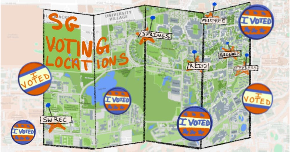 Spring 2021 Student Government Polling Locations