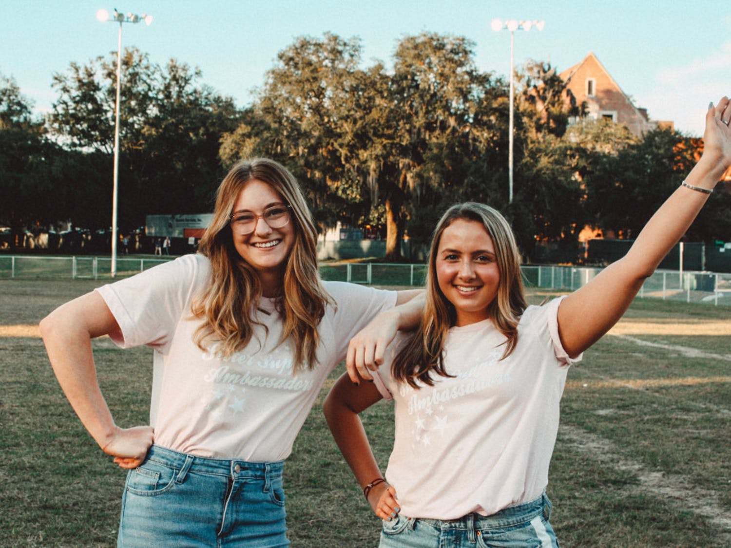 """Allison """"Allie"""" Hellier (left) andMichelle Podolnyy (right) are the co-directors of Sister Support Ambassadors."""