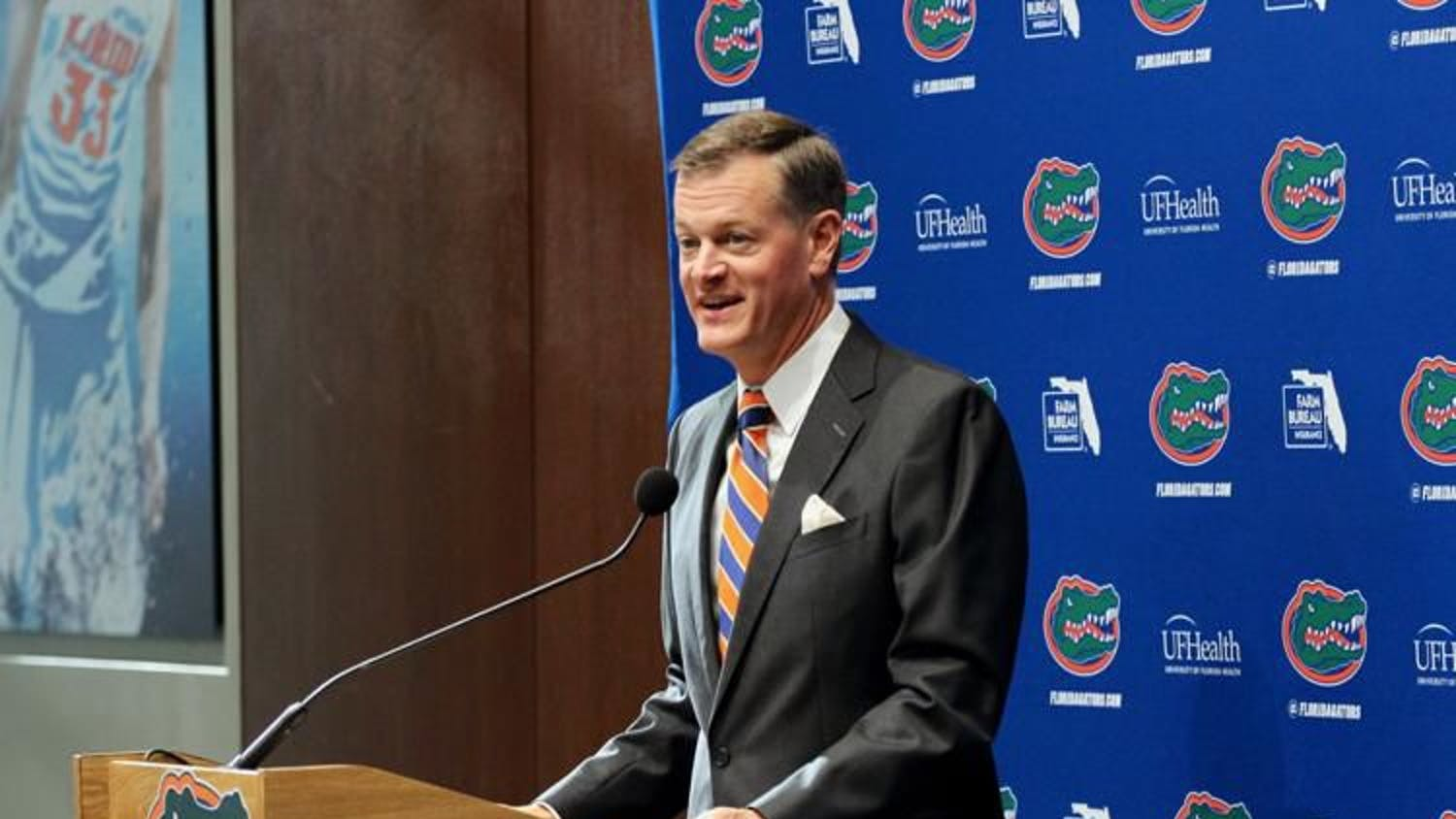 Athletic director Scott Stricklin plans for Florida athletics to have full capacity for fall sports in 2021