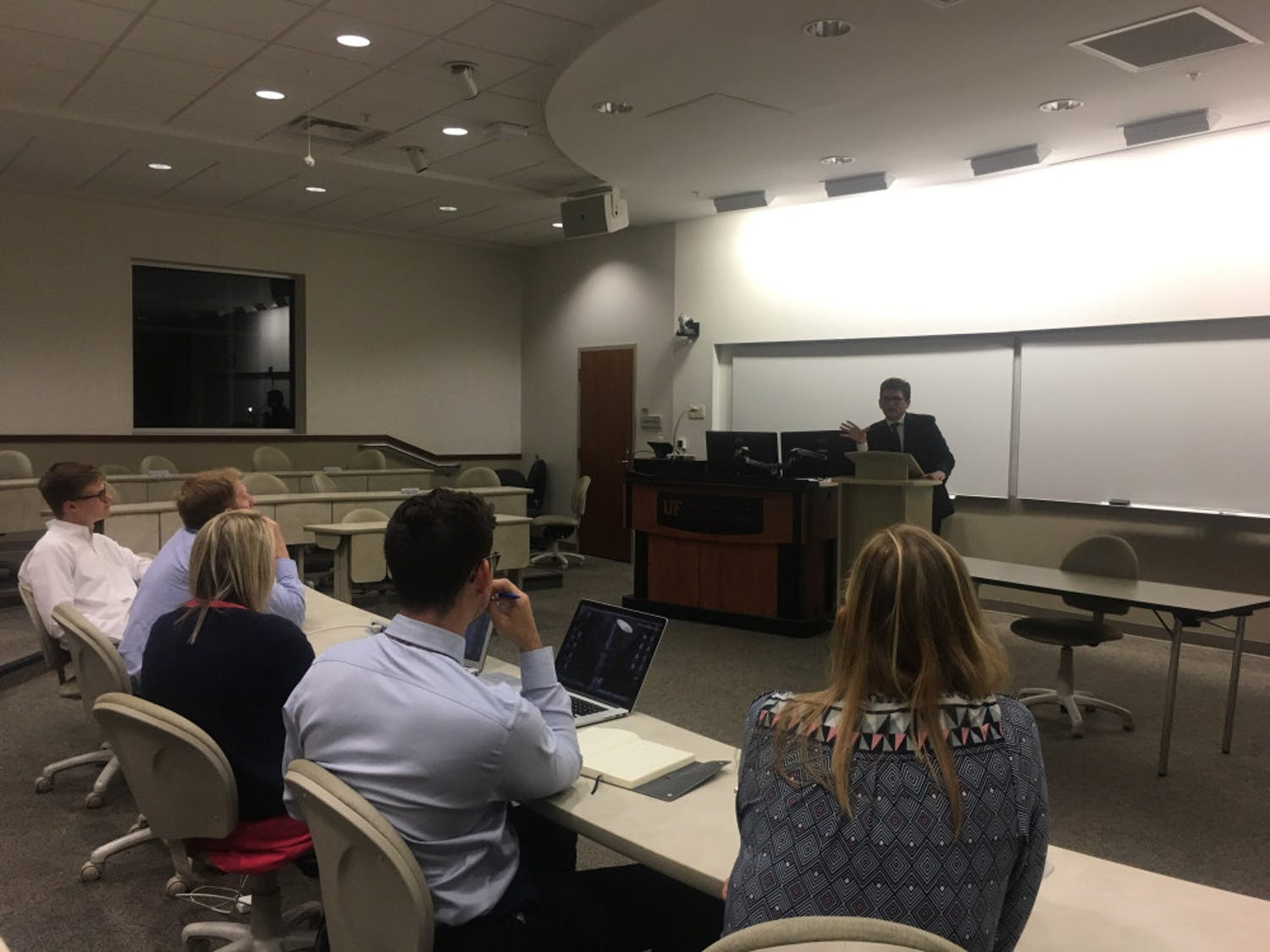 At a Student Government Supreme Court hearing Wednesday night, the court reaffirmed their ability to oversee unconstitutional Student Senate rules.
