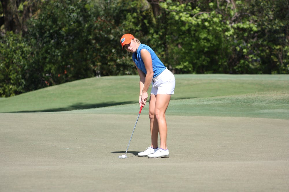 """<p dir=""""ltr""""><span>Florida golfer Sierra Brooks finished the Evans Derby Experience in Auburn, Alabama, tied for 25th with a score of 5 over.</span></p><p><span></span></p>"""