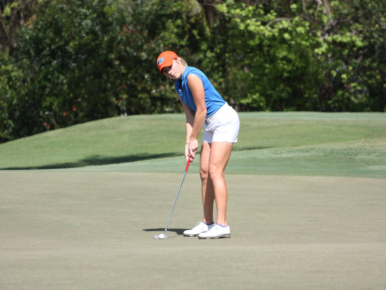 Florida golfer Sierra Brooks finished the Evans Derby Experience in Auburn, Alabama, tied for 25th with a score of 5 over.