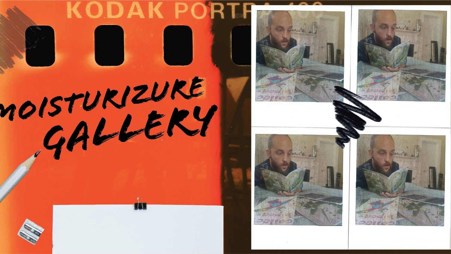 """Local artist Bjørn Parramoure, 35, has been asking Gainesville creatives to share any work they've created during quarantine for a compiled """"quarantine works"""" art zine, which is a small-circulation magazine."""