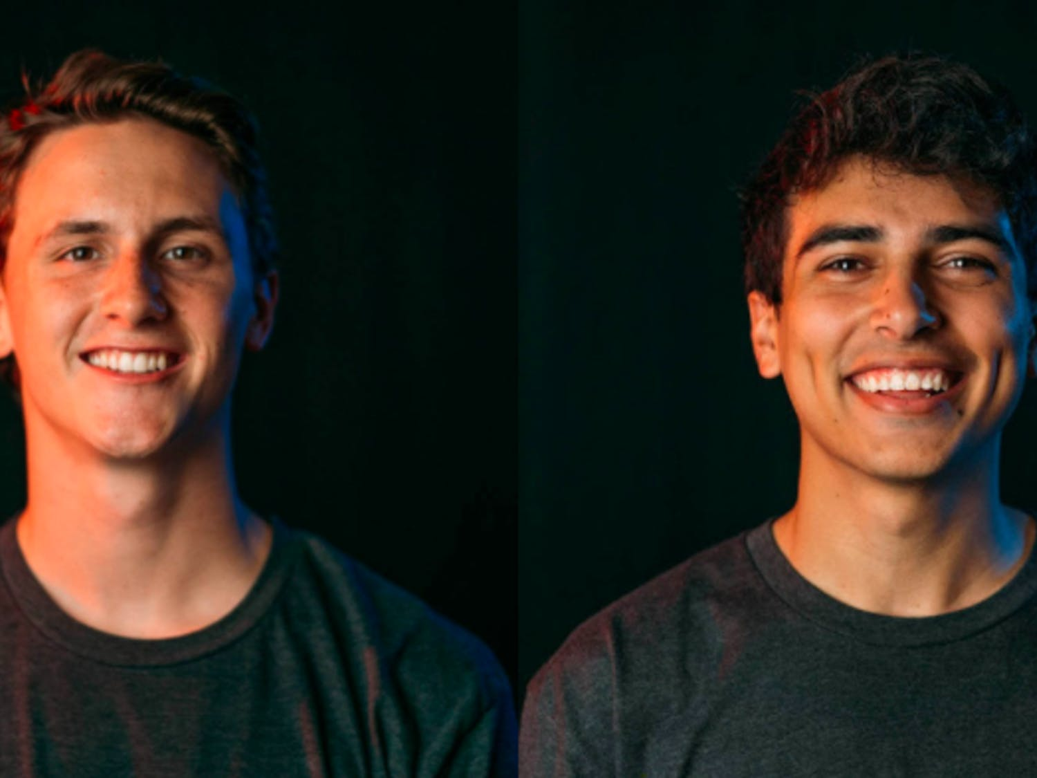 Landon Jones (left) and George El-Salawy (right) make up the team behind Digital Peak Productions powering local candidate outreach.