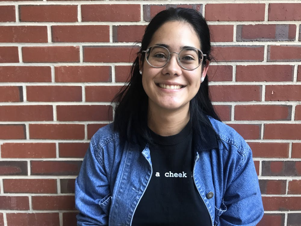 <p>Kathy Dos Santos, an immigrant who still feels strongly about the election.</p>