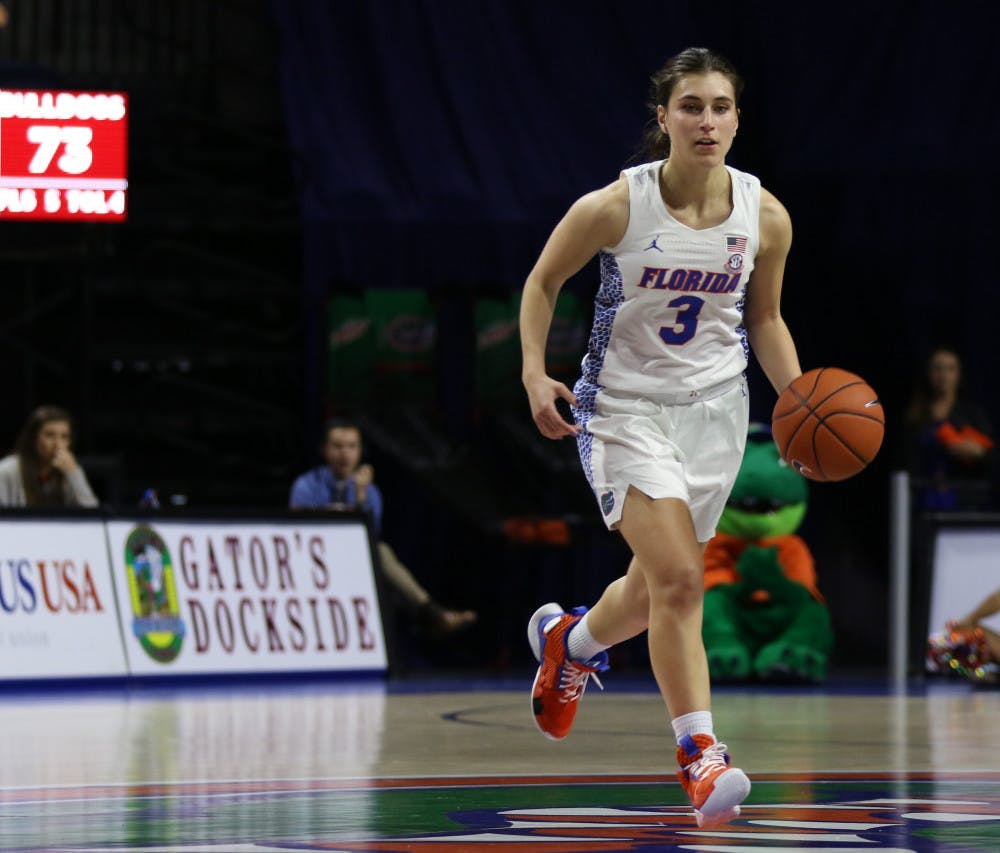 """<p dir=""""ltr""""><span>Florida guard Funda Nakkasoglu dropped a team-high 18 points in UF's 67-50 loss to Tennessee on Thursday in Knoxville.</span></p><p><span></span></p>"""
