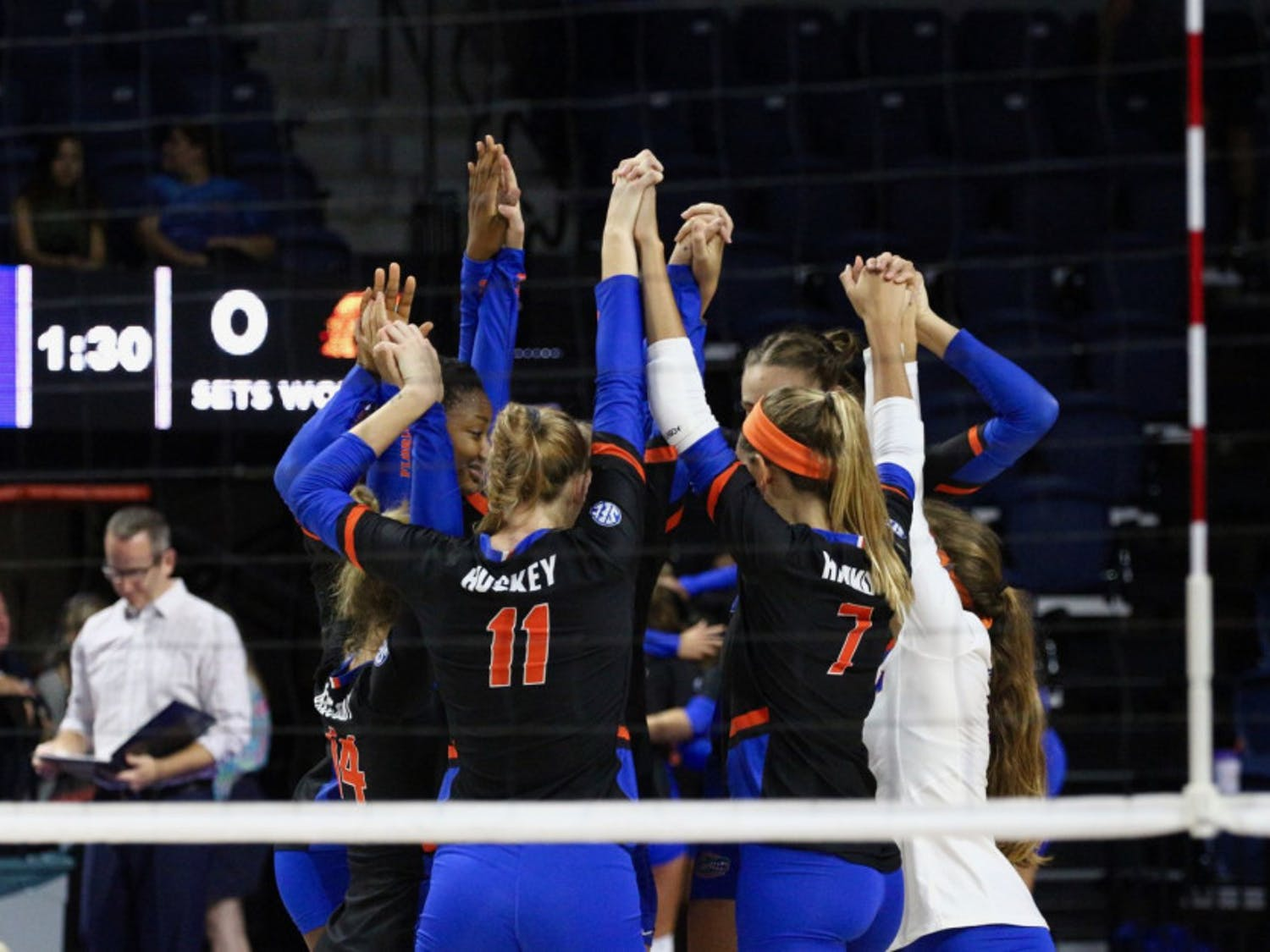 UF looks to bounce back from a loss to Kentucky from Texas A&M Wednesday