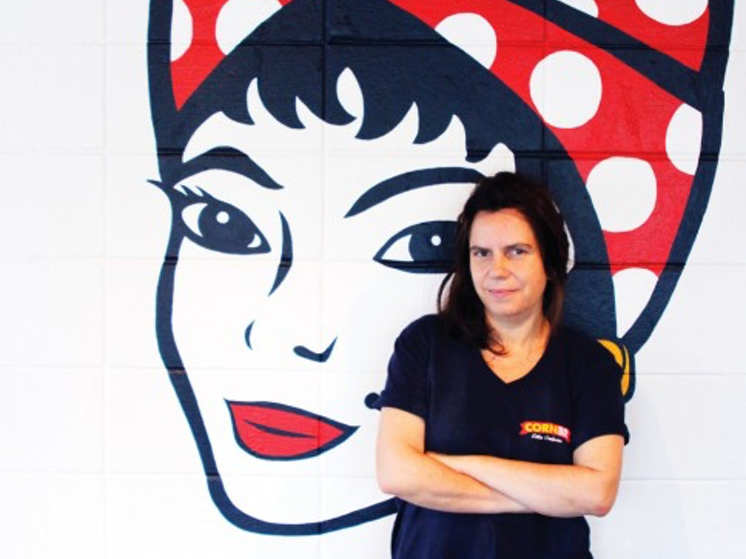 Venezuelan native Leonor Antoni, 47, is the owner and chef at Corner, a Latin fusion restaurant at 1220 W. University Ave.