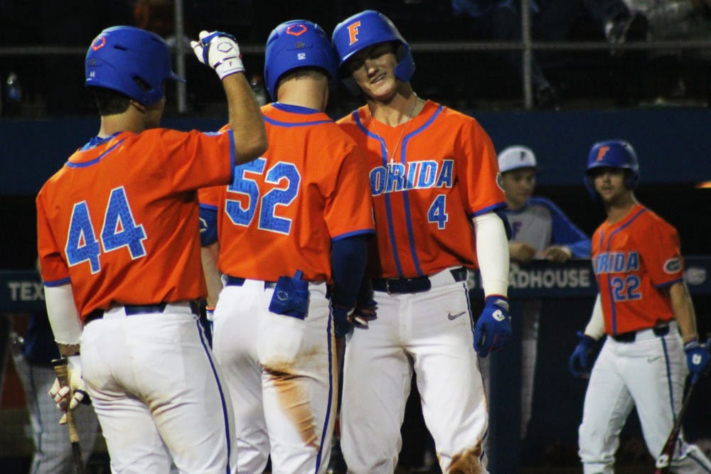<p>McMullen, No. 52, will return to Florida for another year.</p>