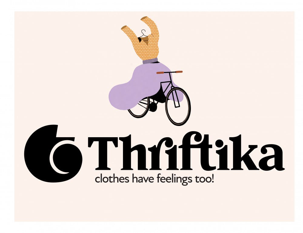 <p>Maria Blokhina, a 25-year-old UF graphic design graduate student, created Thriftika to encourage fashion consumers to shop ethically through trade. </p>