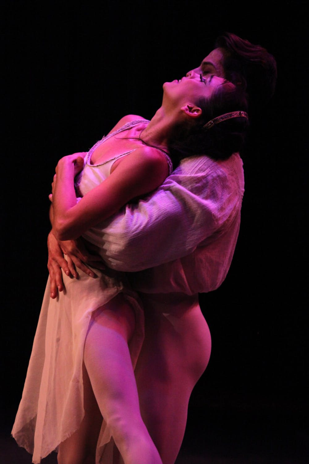 <p>The performance, choreographed by Judy Skinner, explores the many faces of love.</p>