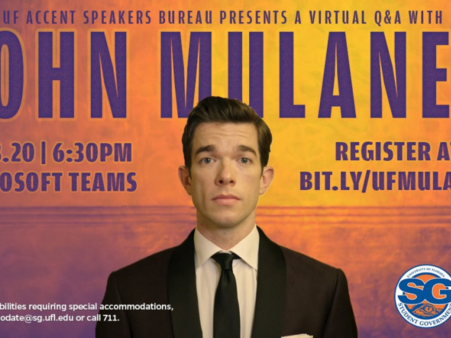 Mulaney shared behind-the-scenes stories about the start of his career, his time at Saturday Night Live and his stand-up specials during Thursday's event.