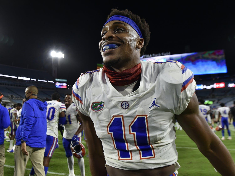Mohamoud Diabate during the Florida-Georgia game Nov. 7, 2020. Photo courtesy of the SEC Media Portal.