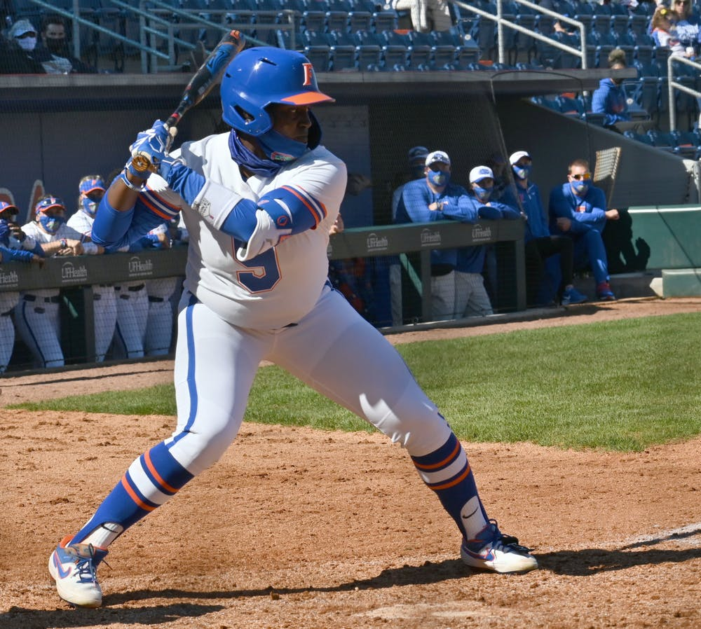 <p>Left-fielder Jaimie Hoover recorded a double and a key put-out in Friday&#x27;s victory against LSU.</p>