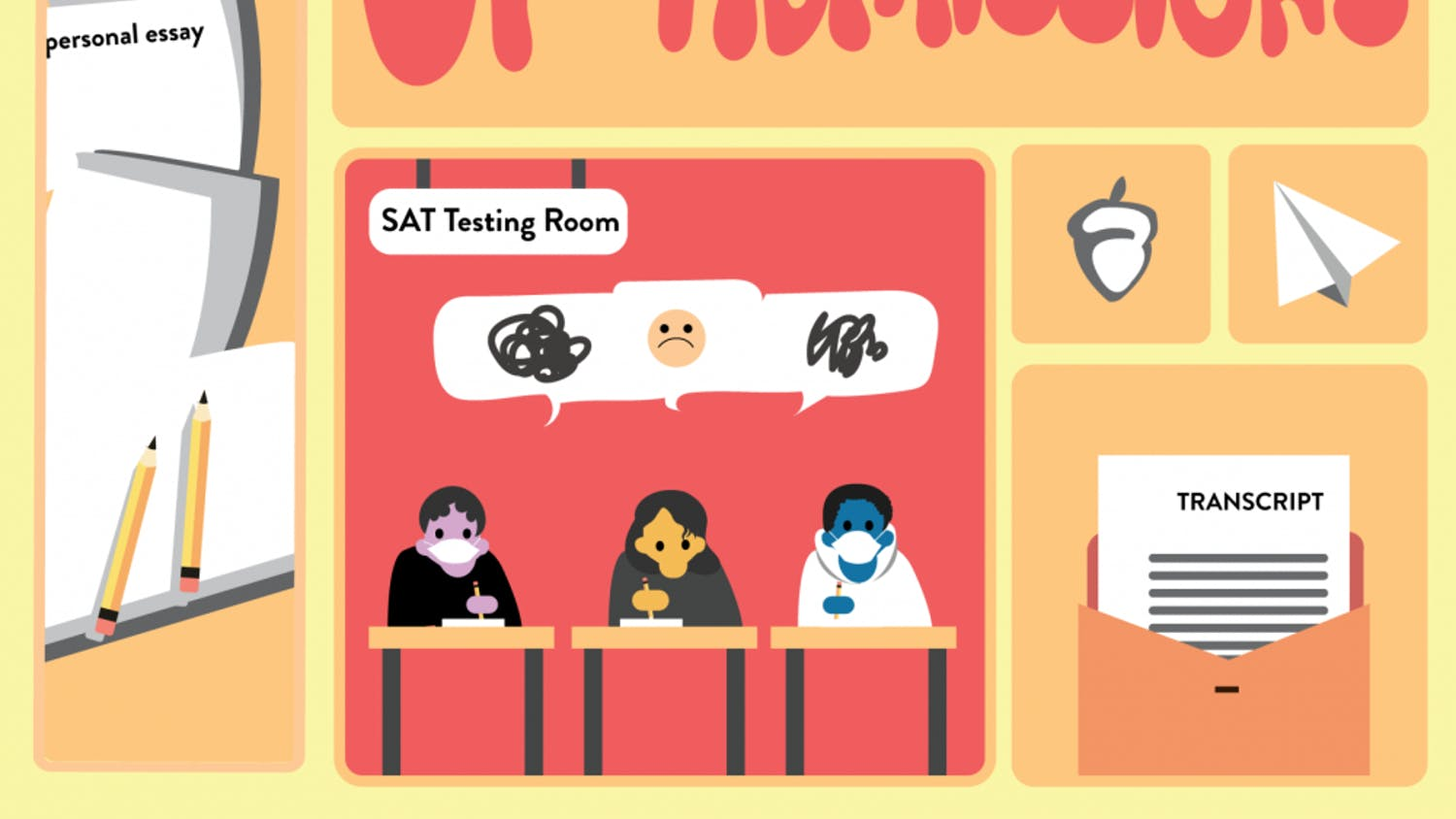 Some students think that no longer requiring standardized tests could be helpful even when there isn't a global pandemic.