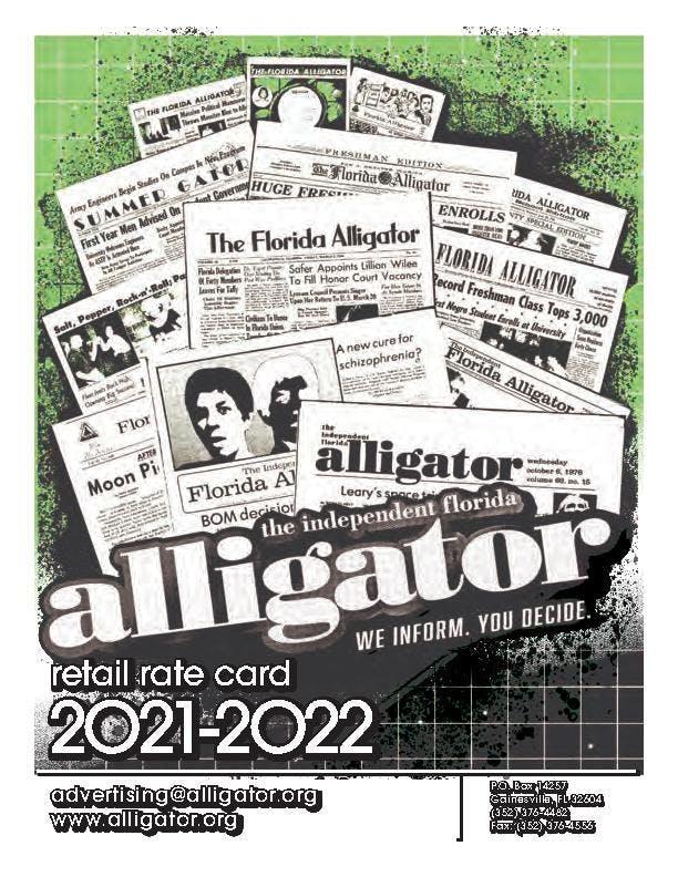 21-22 Alligator Retail Rate Card