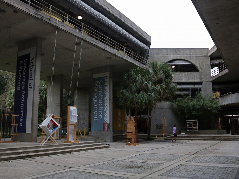 architecture building