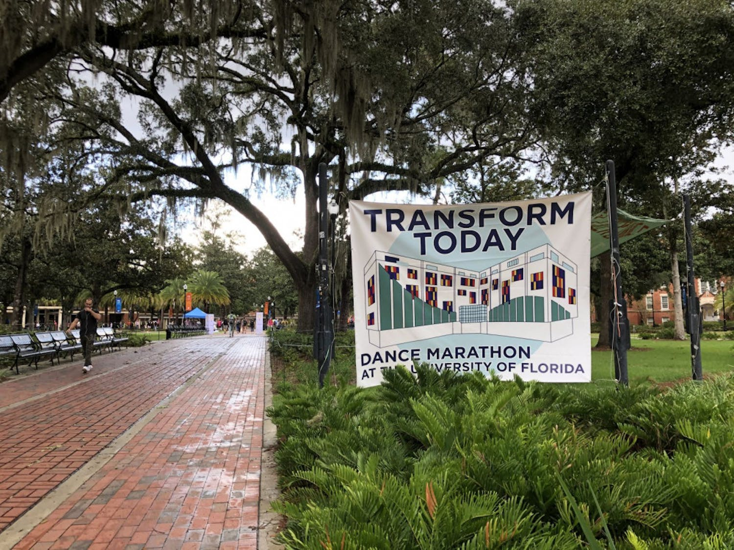 The sixth annual Transform Today fundraising push-day at UF aims to raise $650,000 in 26.2 hours, from Tuesday 8 a.m to today at 10:12 a.m