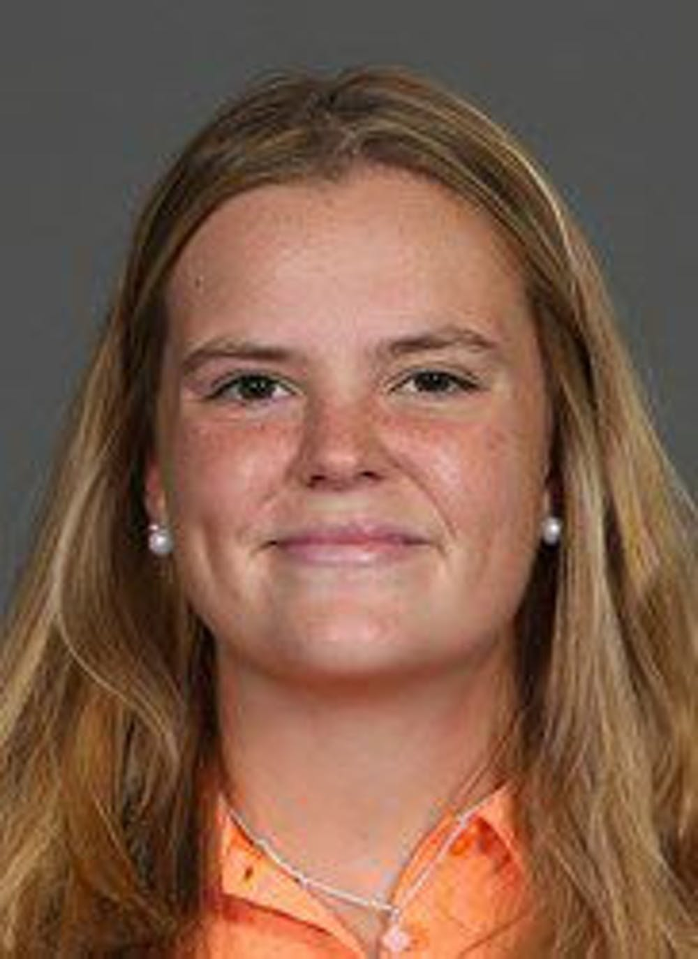 <p>Sophomore Marta Perez led the Florida women's golf team in stroke play at the SEC Tournament on Friday, shooting a 1 under to drop her final score over three rounds to even par.</p>
