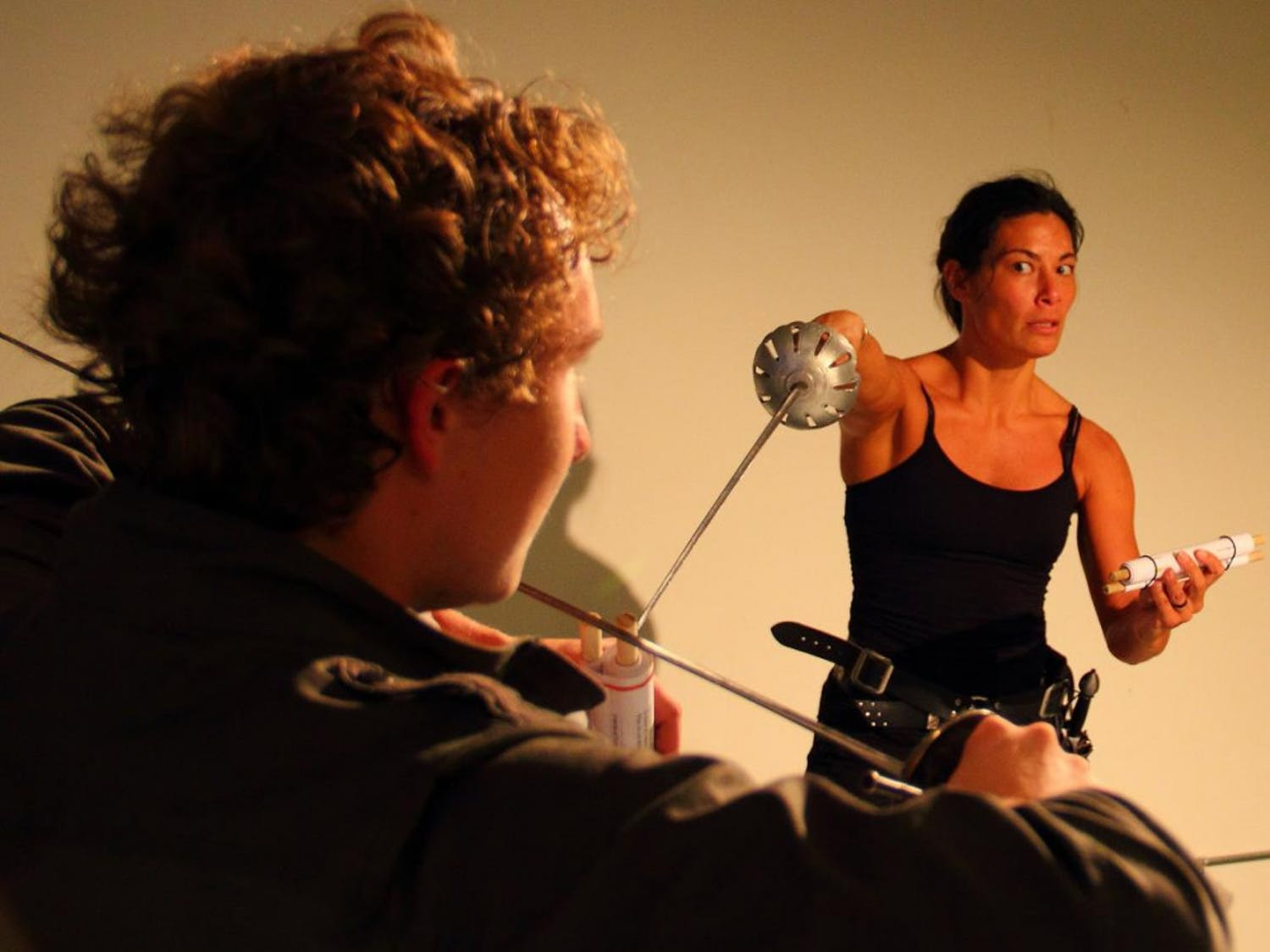 Tiza Garland is recognized for her notable work in movement and stage combat.