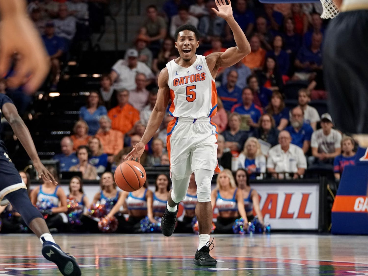Senior guard KeVaughn Allen went 6-of-11 from the field for 14 points on Friday against Charleston Southern. He went 0-for-4 in the season-opener against FSU.