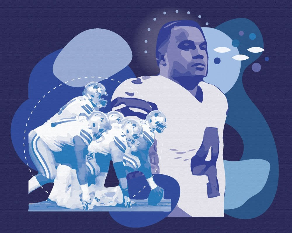 <p>Dak Prescott, the quarterback for the Dallas Cowboys, recently opened up to the public about his struggle with mental health.</p>