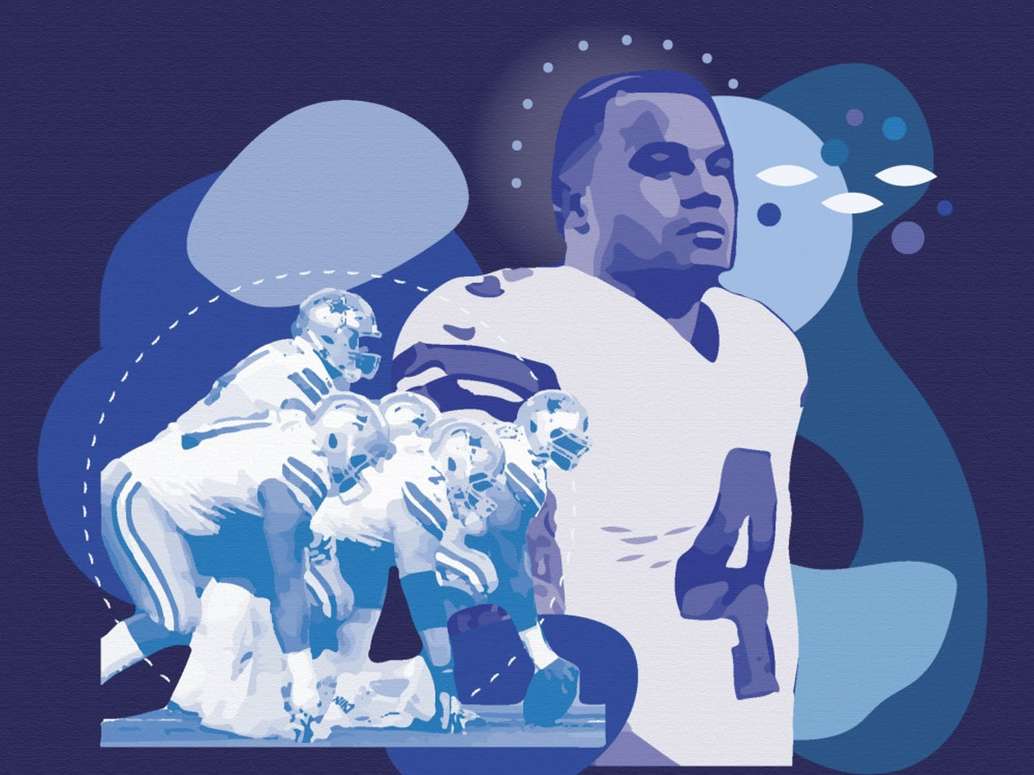 Dak Prescott, the quarterback for the Dallas Cowboys, recently opened up to the public about his struggle with mental health.