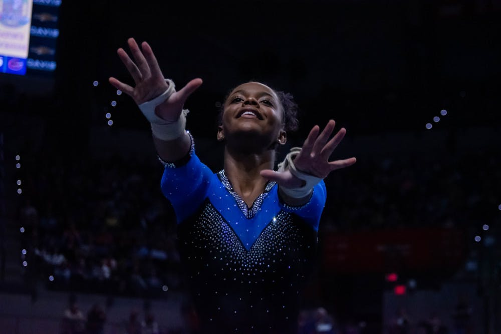<p>Junior Trinity Thomas will be back with the Gators this season.</p>