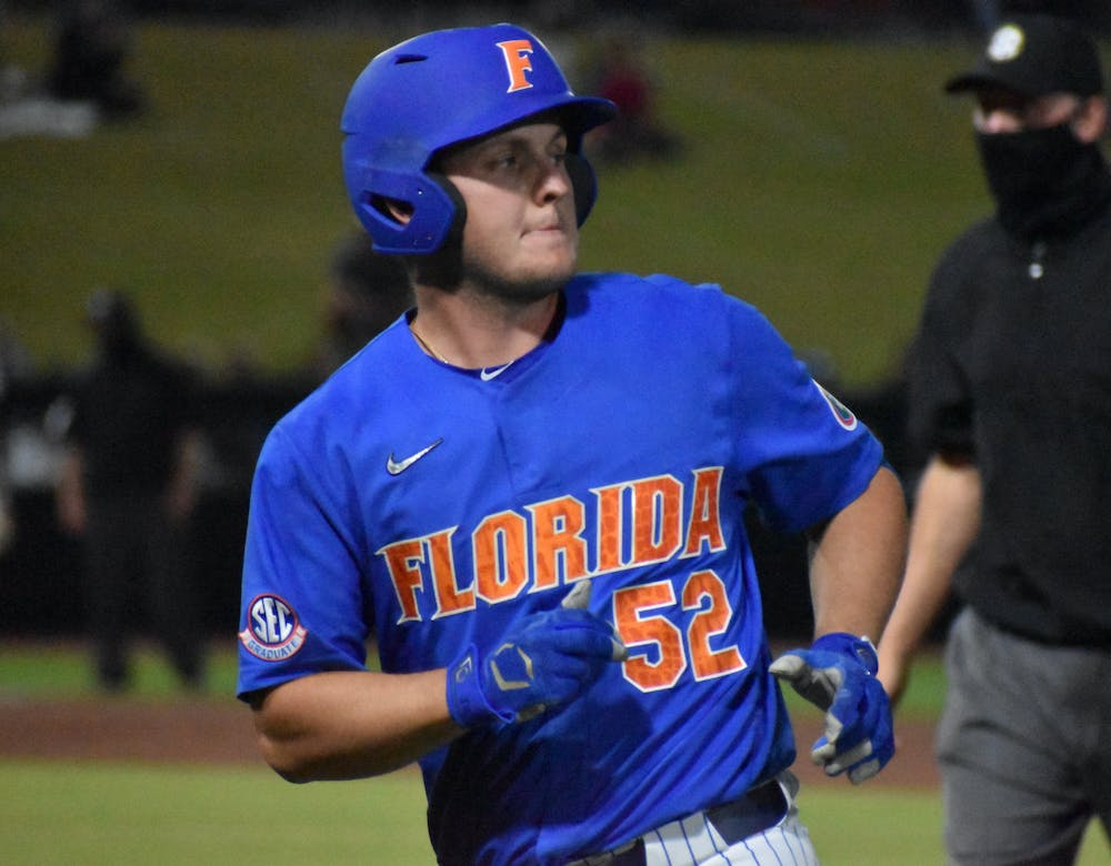 Florida will hit the road for a three-game weekend series in Knoxville as it takes on No. 6 Tennessee. Photo from UF-Jacksonville March 13.