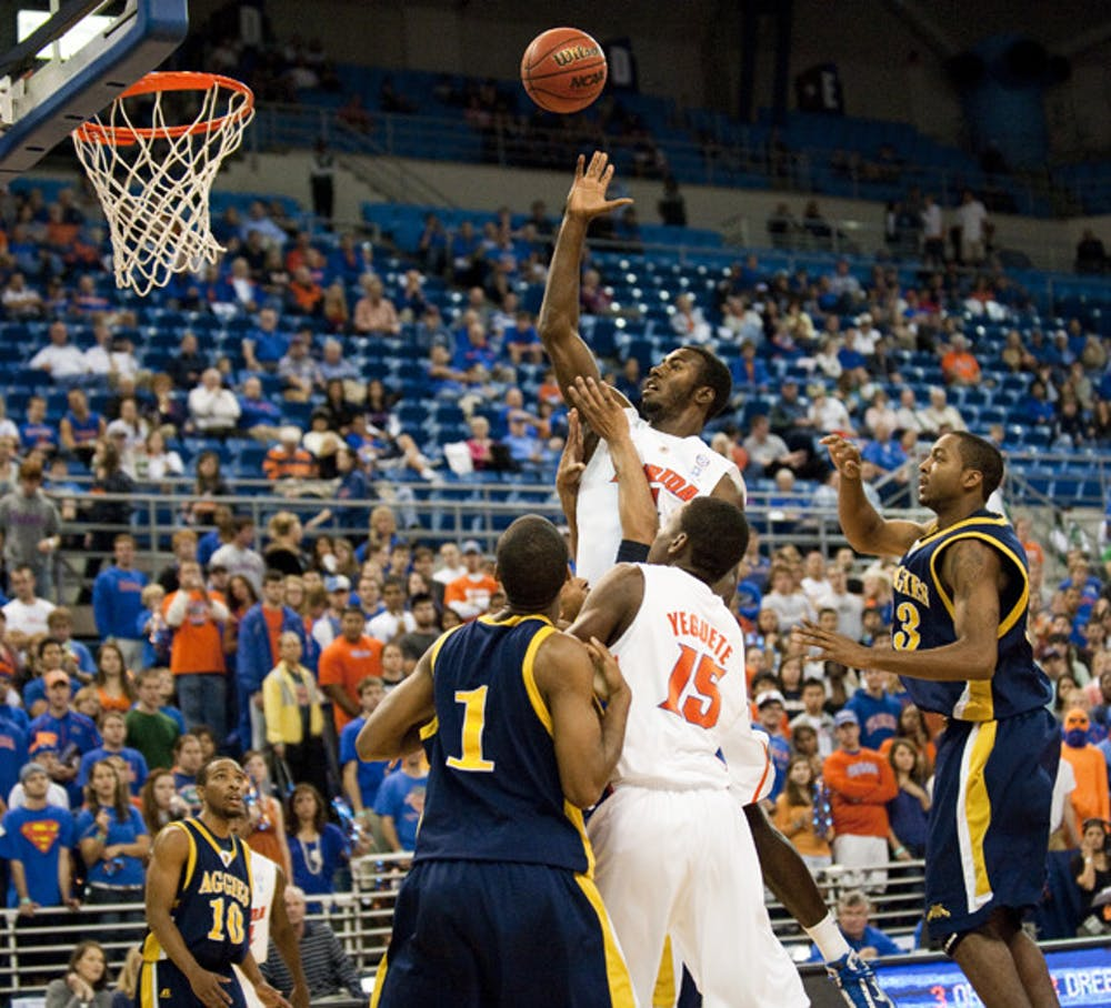 <p>Young has been fouled a lot in practice, something coach Billy Donovan said would help prepare him for UF's tough nonconference schedule.</p>