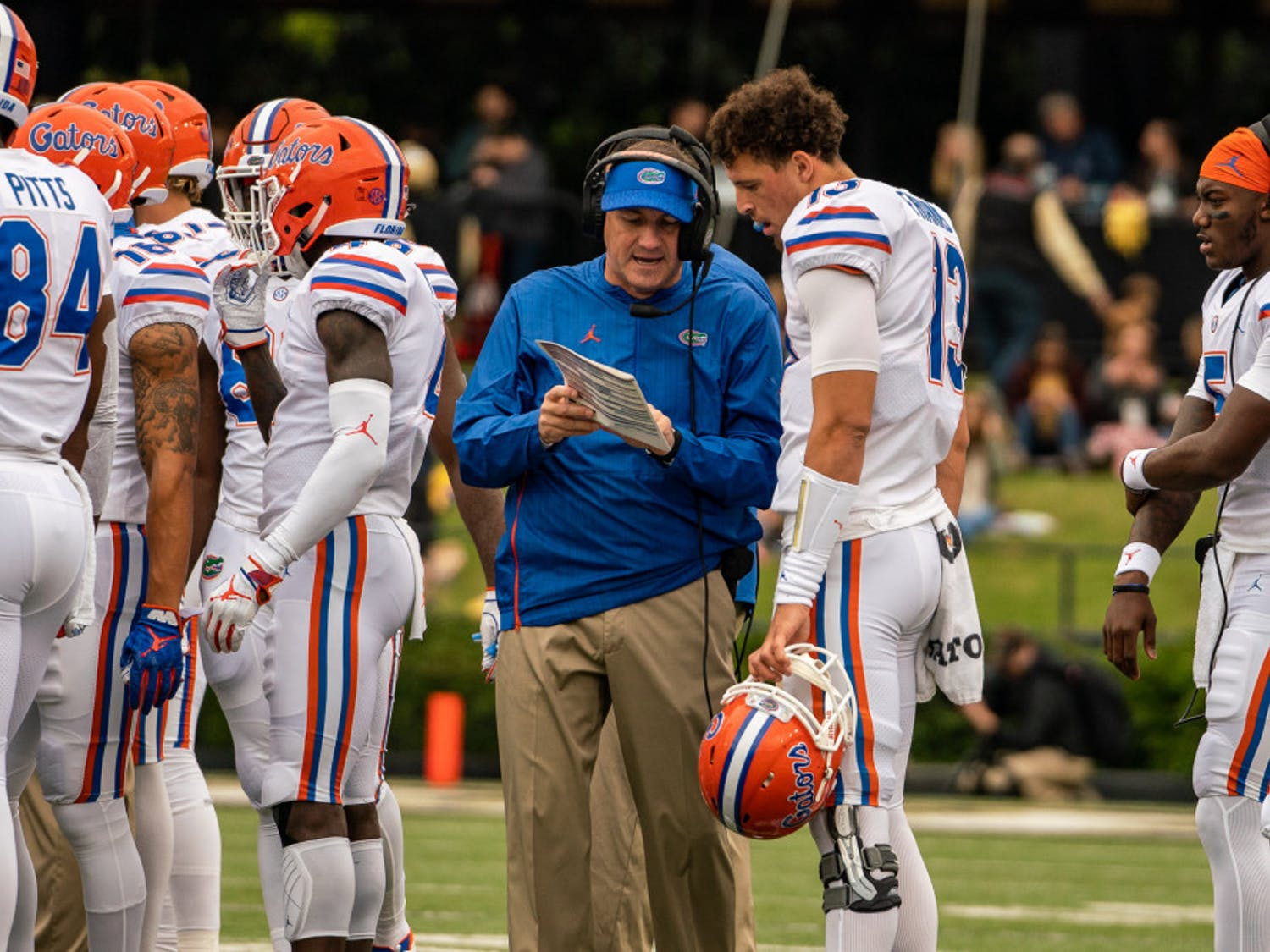 """Coach Dan Mullen stressed that even with no conference wins, Missouri remains a tough opponent. """"They probably have the best quarterback in the league,"""" he said."""